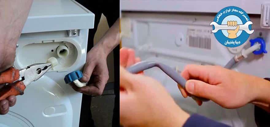 کد خطای مربوط به وارد نشدن آب به داخل ماشین لباسشویی ال جی چیست؟