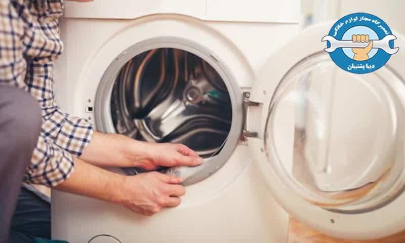 علت آبریزی از ماشین لباسشویی ال جی چیست؟